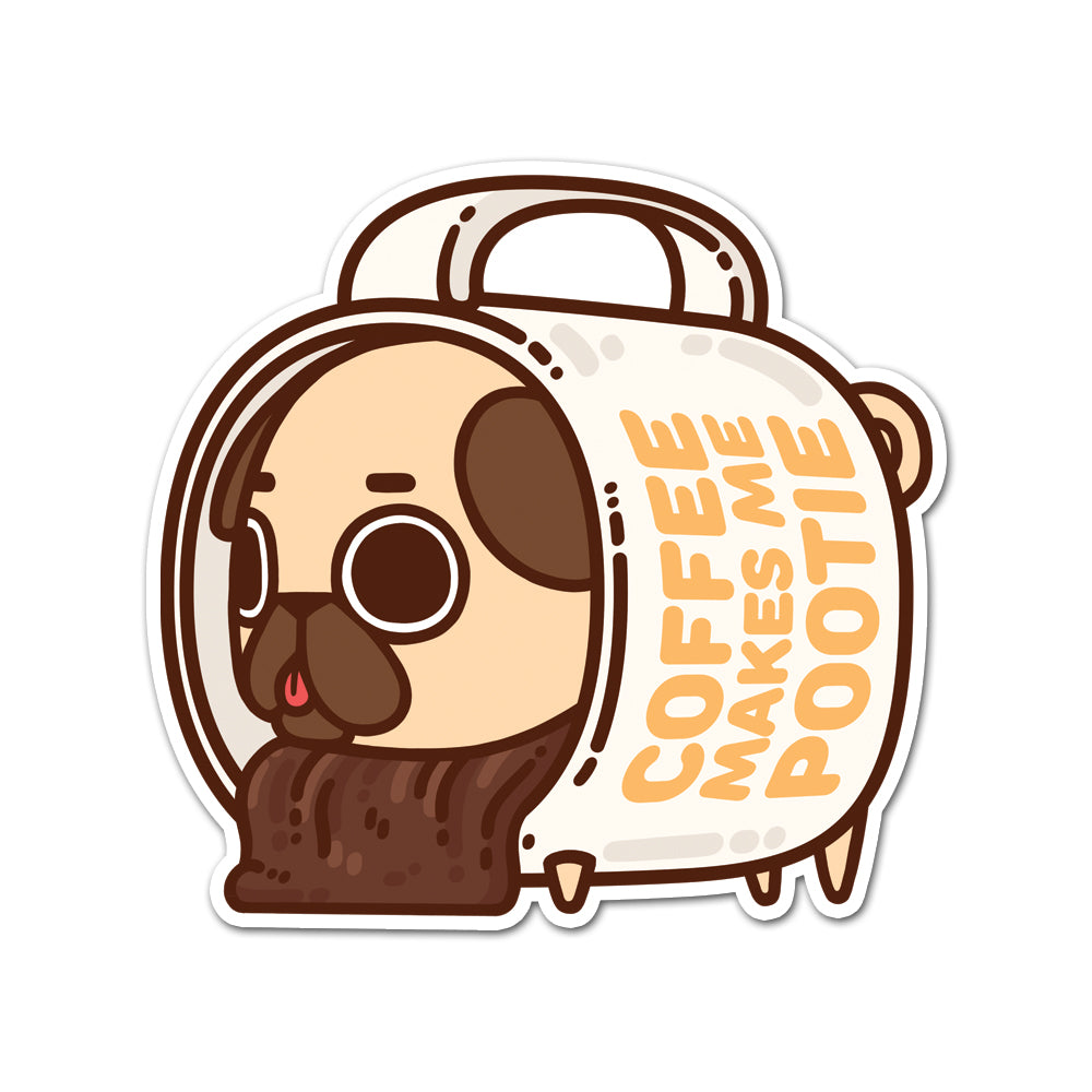 Puglie Coffee Mug Sticker