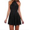 Image of Criss Cross Back Style Mini Dress
