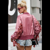 Image of Rose Gold Bomber Jacket
