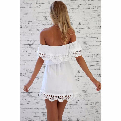 Elegant Lace Sundress