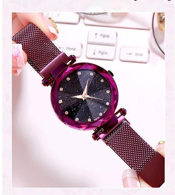 Starry Sky Waterproof Watch