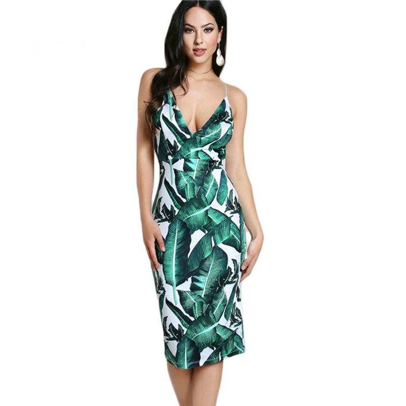 Tropical Summer Dress