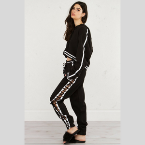 Lace Up Tracksuit