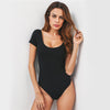 Image of U Neck Backless Bodysuit