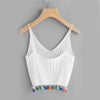 Image of Tassel Knitted Cami Top