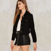 Image of Black Slim Casual Jacket