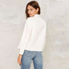 Image of White Slim Casual Jacket