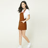 Image of Autumn Overall Dress