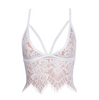 Image of Black/White Lace Bralet