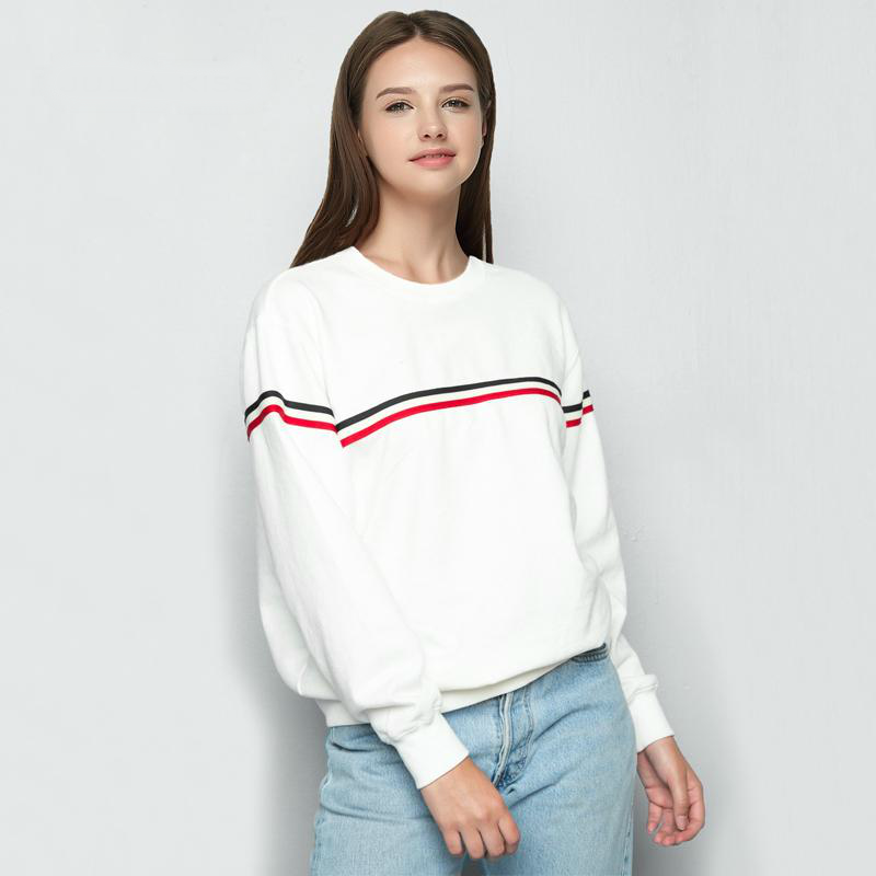 Autumn Varsity Striped Sweater