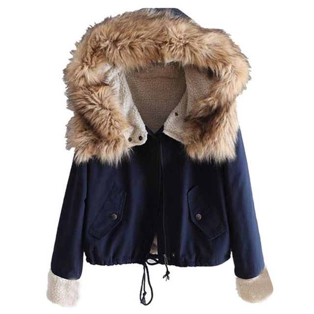 Winter Furry Coat Jacket