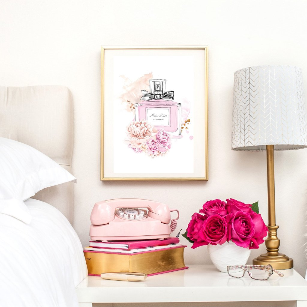 Miss Dior Perfume Wall Art Print