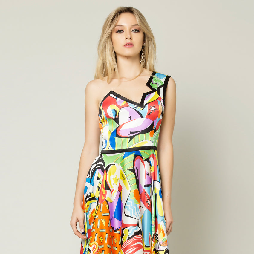 Picasso Dress Long