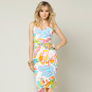 Tropical Flowers Dress