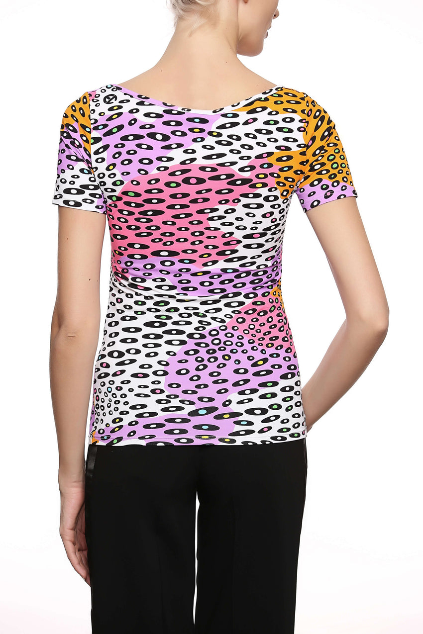 Tropical Camouflage Lycra T-Shirt