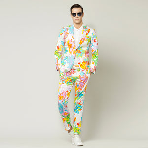 Tropical Flowers Suit