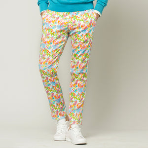 Tropical Flowers Trousers