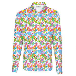 Printed Shirt - Small Tropical Flower
