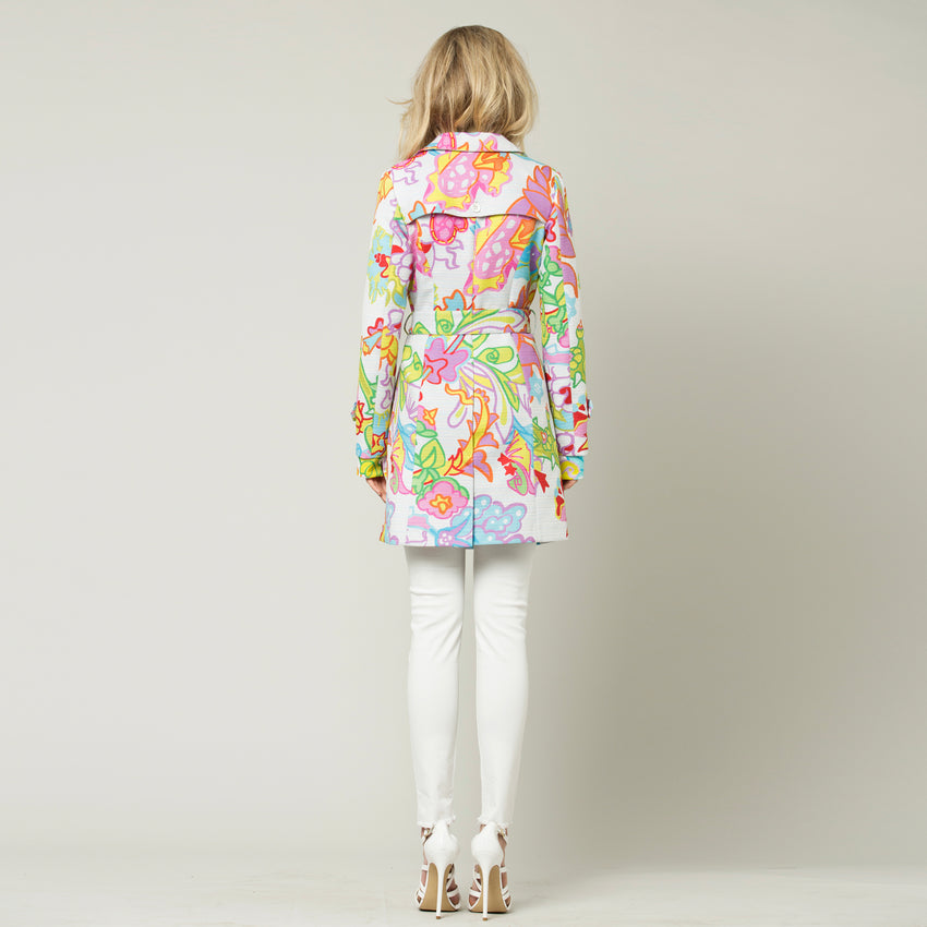 Tropical Flowers Trench