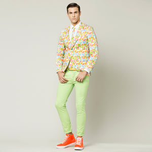 Tropical Flower Jacket (Suit)