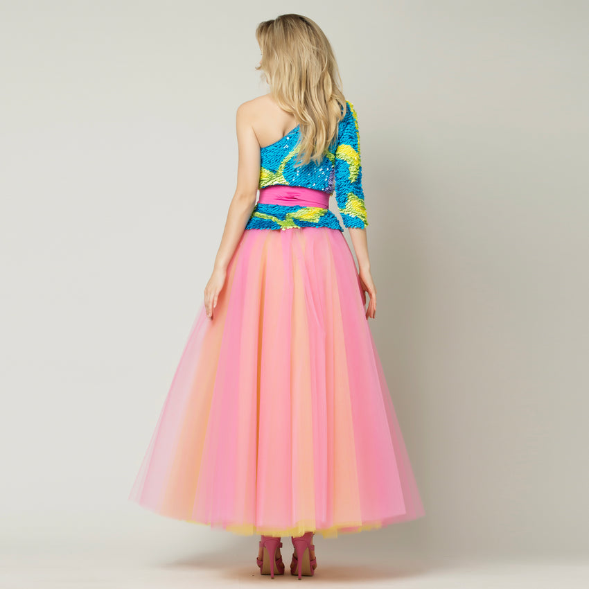 Color Tulle Skirt