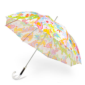 Printed Umbrella - Tropical Flowers