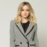 Double Breast B&W Jacket