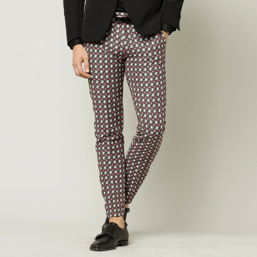 Fuxia Dots Trousers