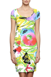 Butterflies Lycra Dress