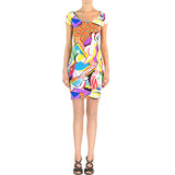 Picasso Lycra Dress - Short Sleeves