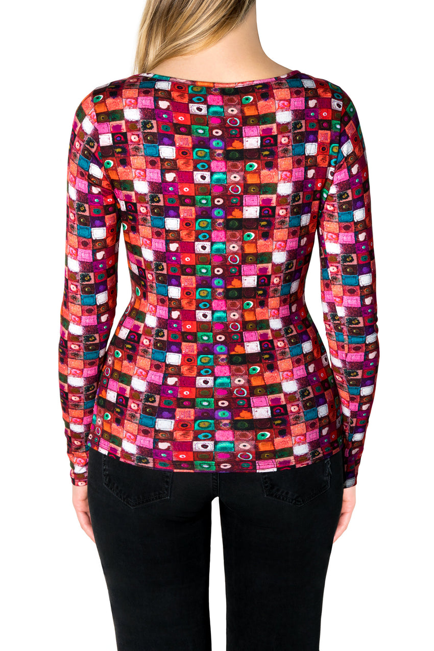Murrine Jersey T-Shirt