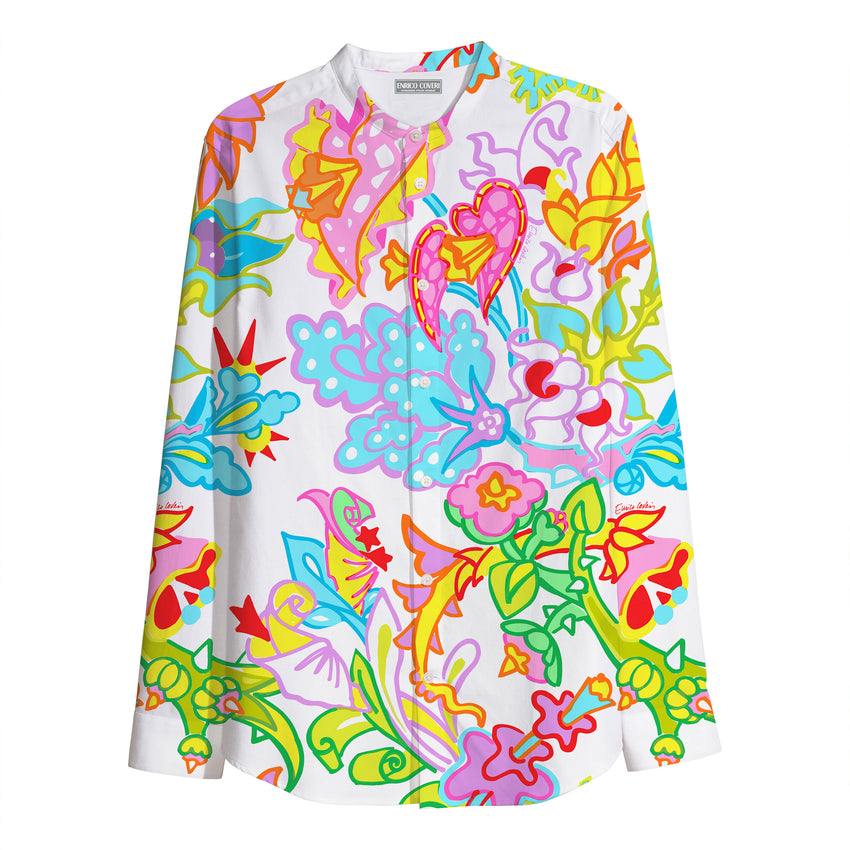 Printed Shirt - Tropical Flower
