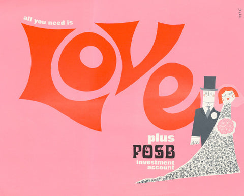 All You Need is Love plus POSB Investment Account