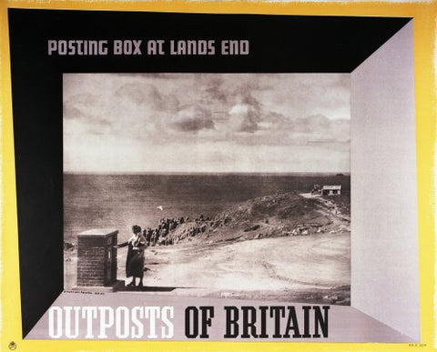 Outposts of Britain. Posting box at Lands End