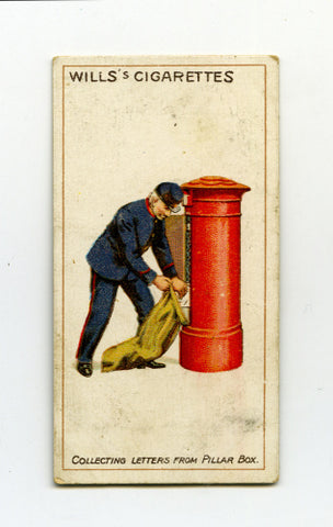 Collecting Letters Cigarette Card
