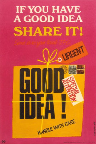 If you have a good idea share it! Send it to your local JPC