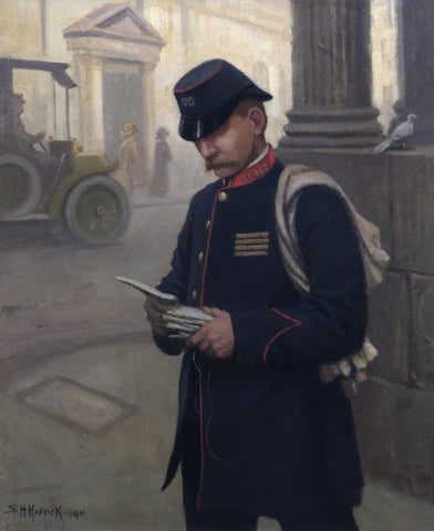 'A Postman of the City of London'