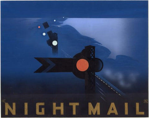 Nightmail Poster artwork by Pat Keely