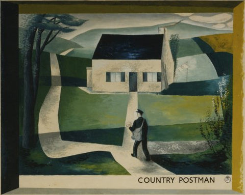 A country postman