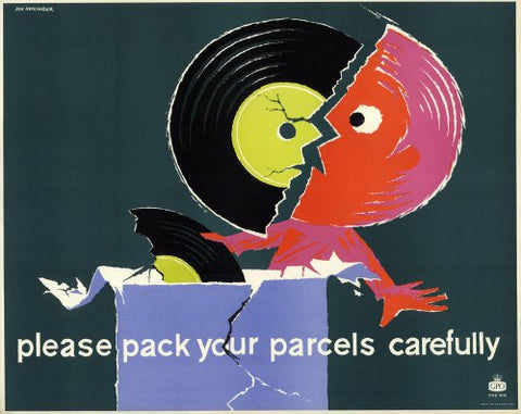 Please pack your parcels carefully - Broken Record
