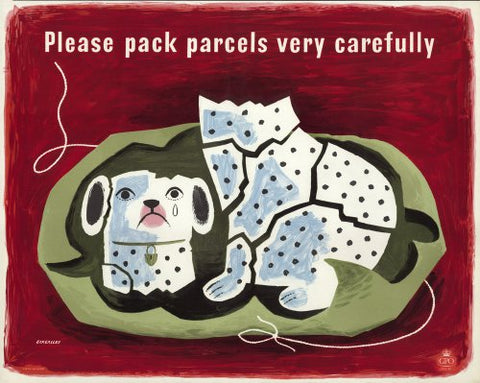 Please pack parcels very carefully - China Dog
