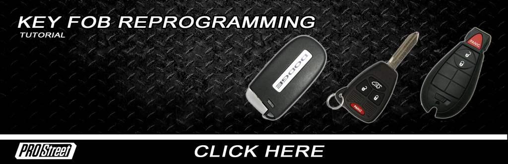 How to // Keyless FOB Reprogramming