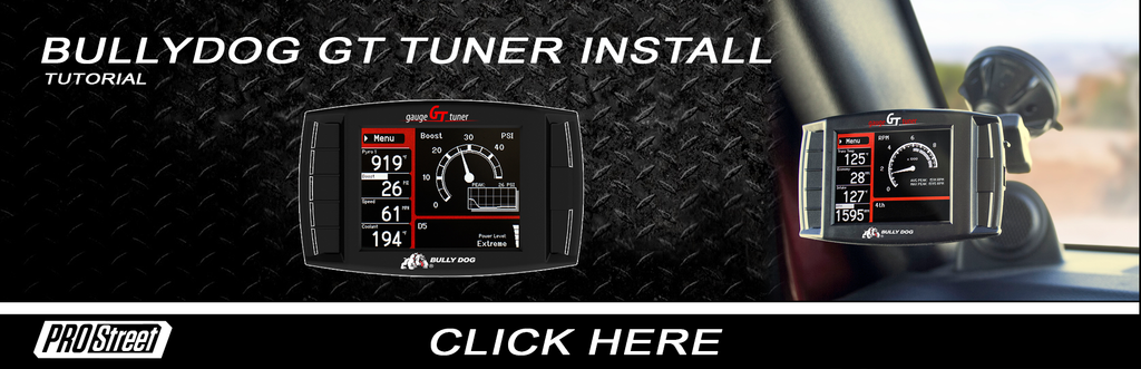 How to install a Bullydog GT tuner