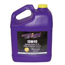 ROYAL PURPLE LTD // Duralec Super 15W40 CJ/4  Motor Oil 15W40 Gal Bottle, Oils, Fluids & Lubricants - ProStreet Motorsports