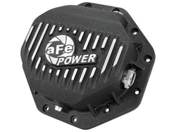 AFE // Pro Series Rear Differential Cover Black w/ Machined Fins Dodge 2014 - 2018 Ecodiesel - ProStreet Motorsports