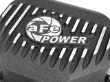 AFE // Pro Series Rear Differential Cover Black w/ Machined Fins Dodge 2014 - 2018 Ecodiesel,  - ProStreet Motorsports