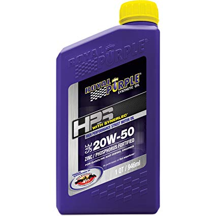 ROYAL PURPLE LTD // ***Discontinued***Royal Purple HPS 20W-50 High Performance Street Synthetic Motor Oil with Synerlec - 1 Quart Bottle, Oils, Fluids & Lubricants - ProStreet Motorsports