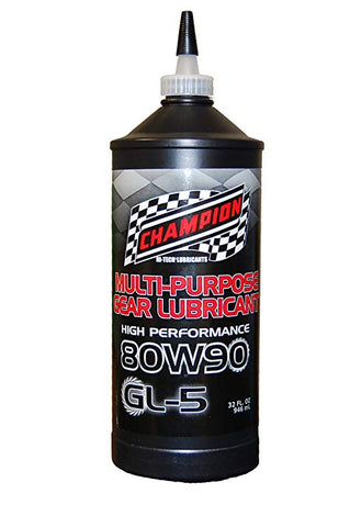 Champion Brands // Heavy Duty AP GL-5 80W-90 Gear Lube (12 Pack - 1Qt Bottles),  - ProStreet Motorsports