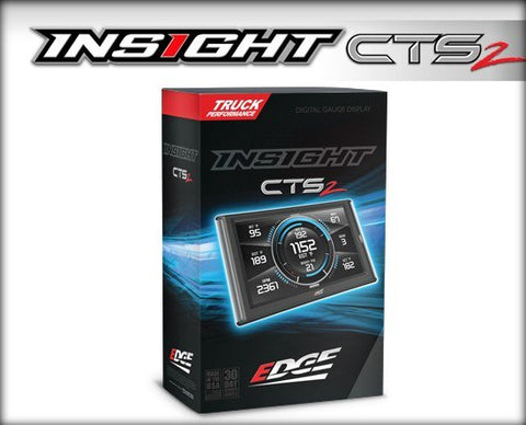 EDGE PRODUCTS // INSIGHT CTS2 MONITOR  (1996 and NEWER OBDII ENABLED VEHICLE), Tuners, Monitors, Autocals & Sensors - ProStreet Motorsports