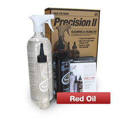 S&B FILTERS // Cleaning Kit Precision II: Cleaning & Oil Kit (Red Oil), Intake & Air Filters - ProStreet Motorsports